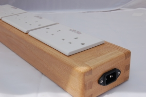 A slim mains distribution block from HiFi In Touch